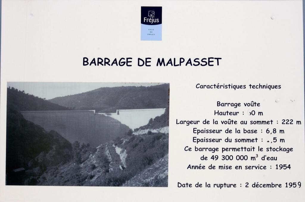 Malpasset Dam Tragedy Details