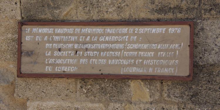 Merindol Massacre Luberon Provence History