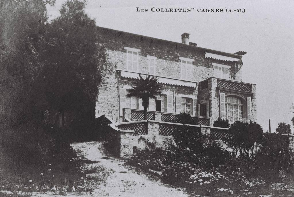 Musee Renoir postcard