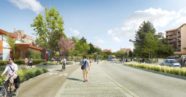 Aix-en-Provence Roadworks Building