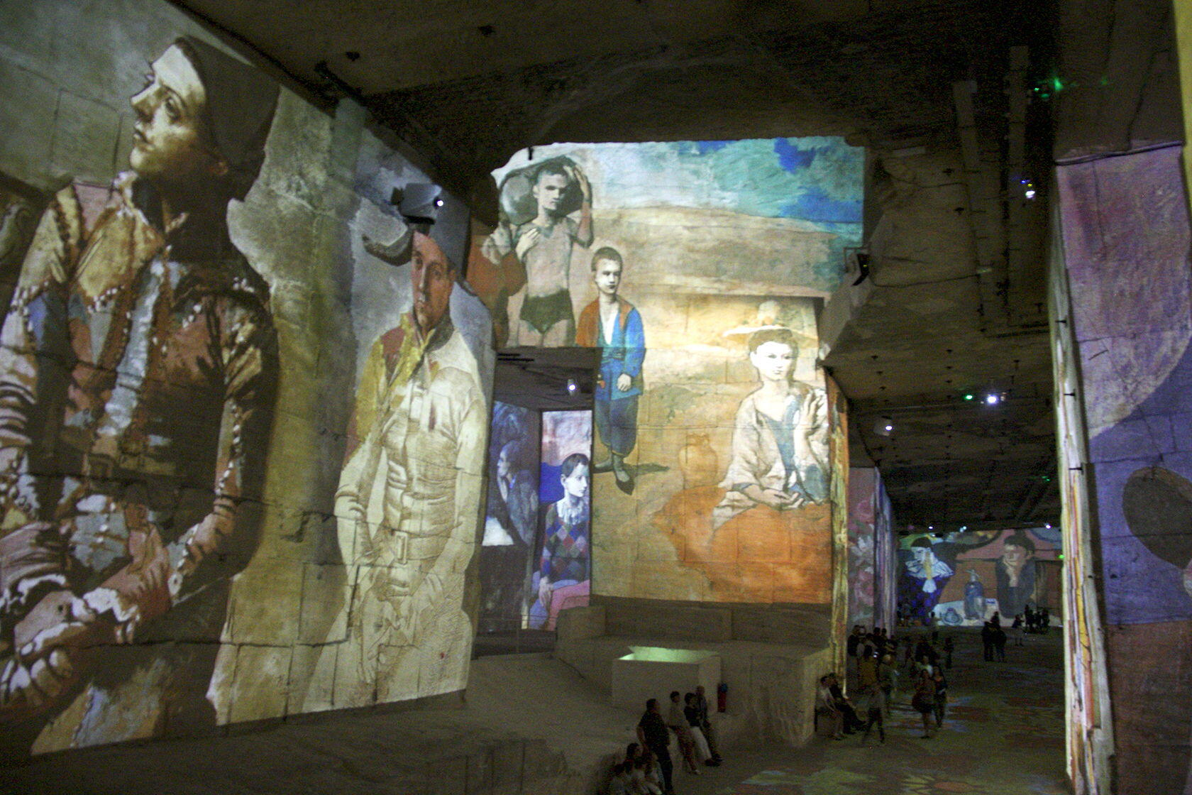 Carrieres de Lumieres Les Baux 2018