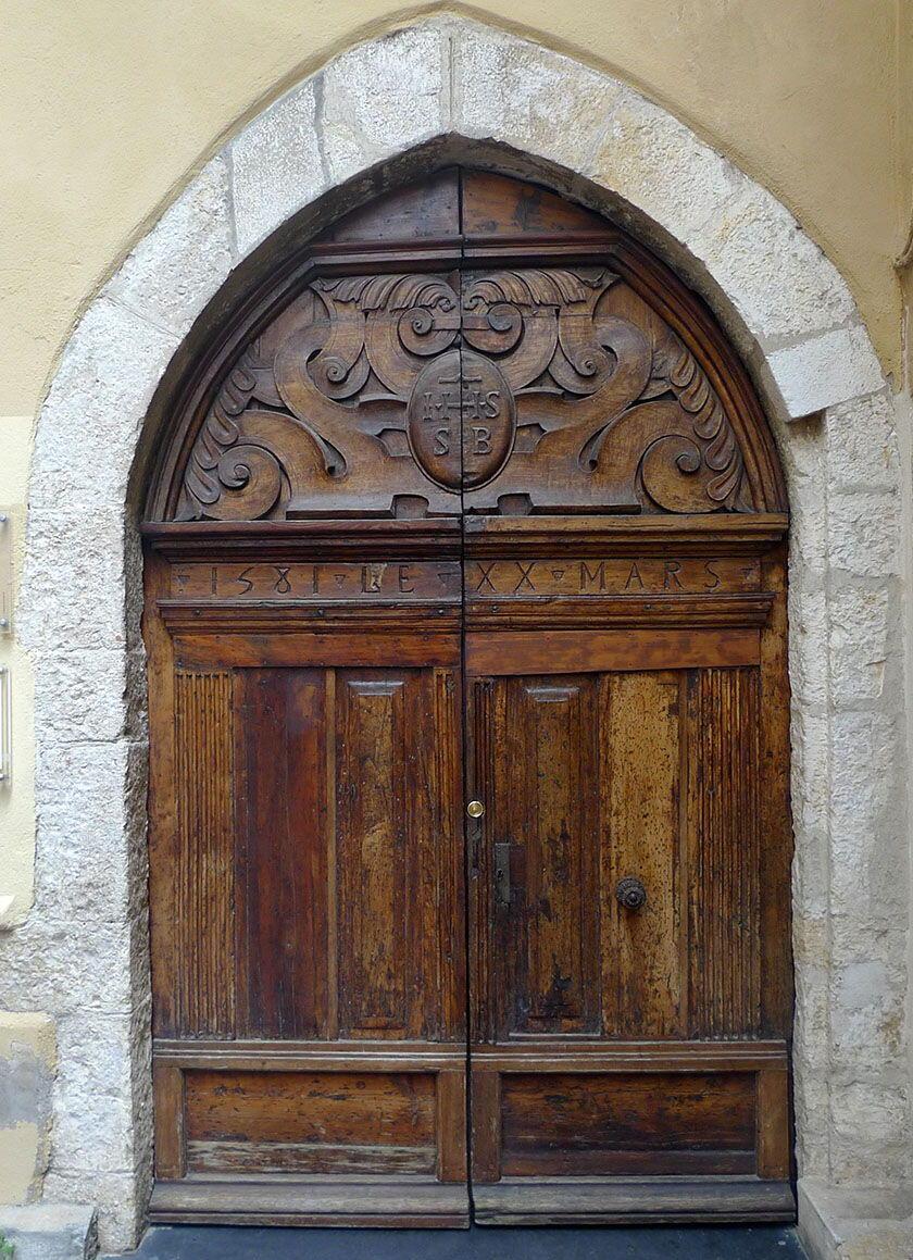 Destination Antibes French Riviera Doors