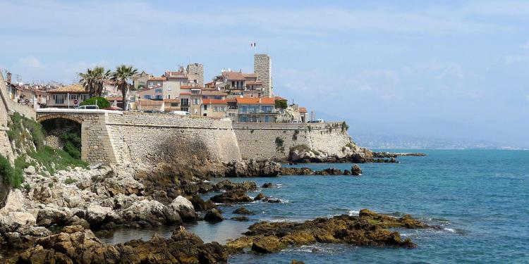 Destination Antibes French Riviera View Old Town