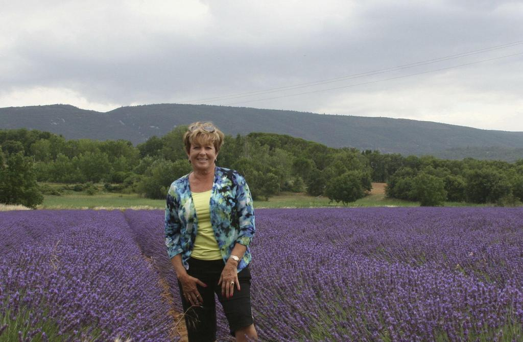 Author Patricia Sands Lavender Provence