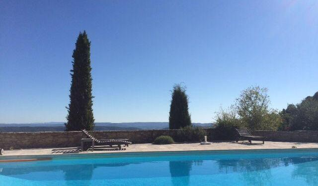 Provence Holiday Home Owner Pool shot les Vallons