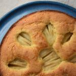 Sunken Pear Cake Versunkener Apfelkuchen