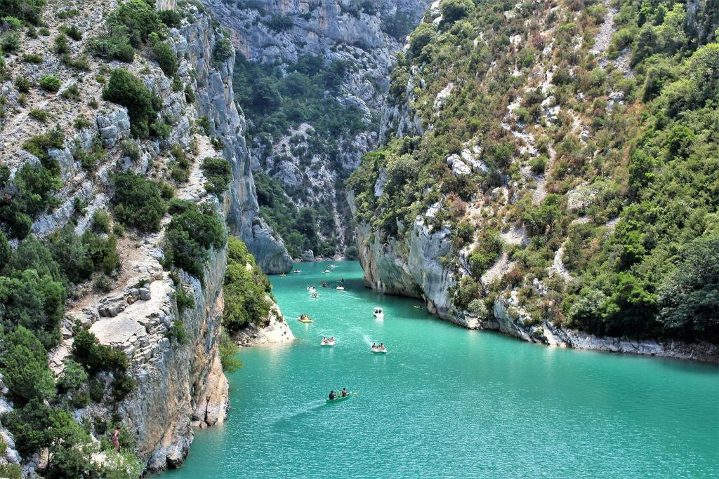 Visiting Var Kids Summer Gorges du Verdon