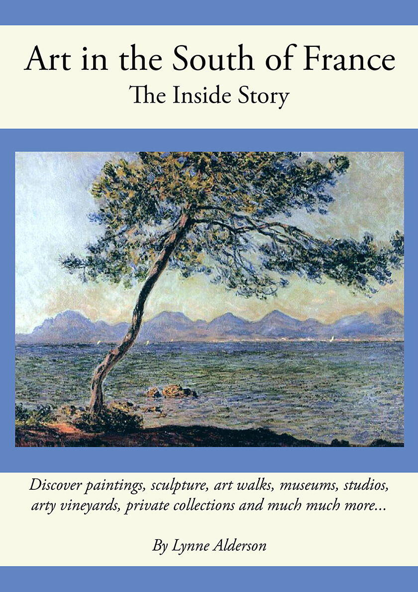 Art in the South of France book cover