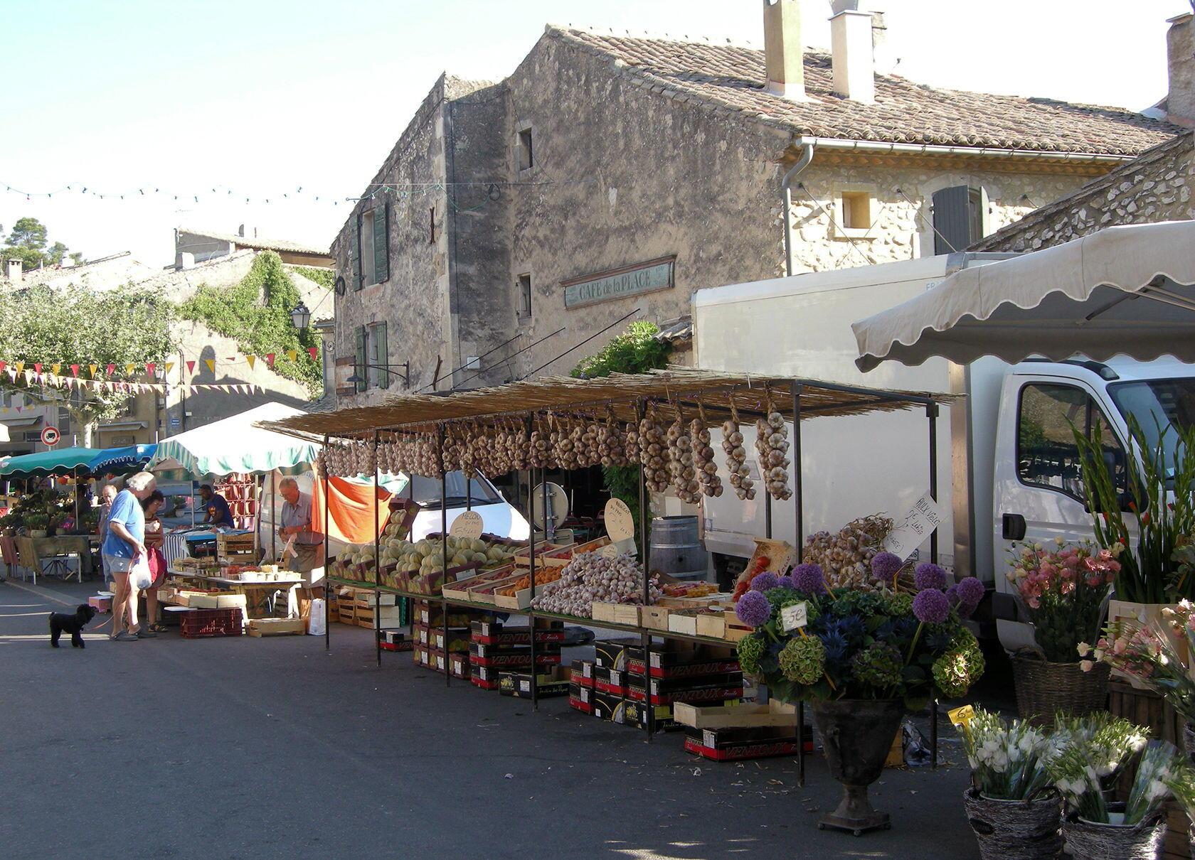 Eygalières Alpilles Village Market