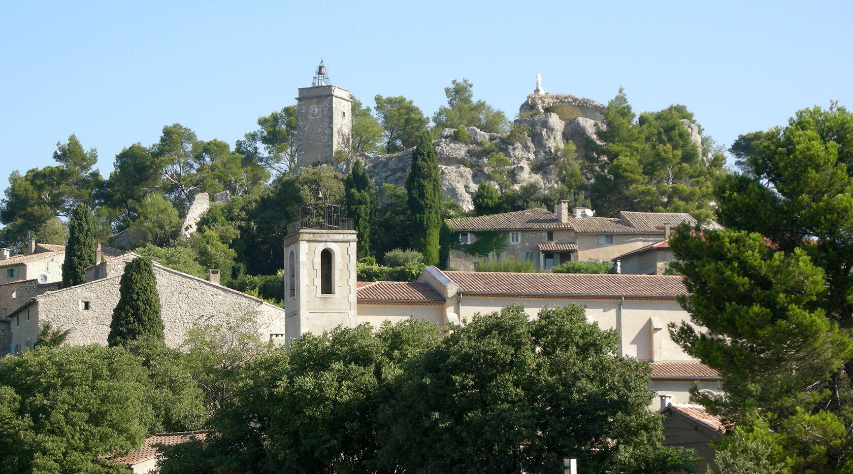 Eygalières Alpilles Village Views
