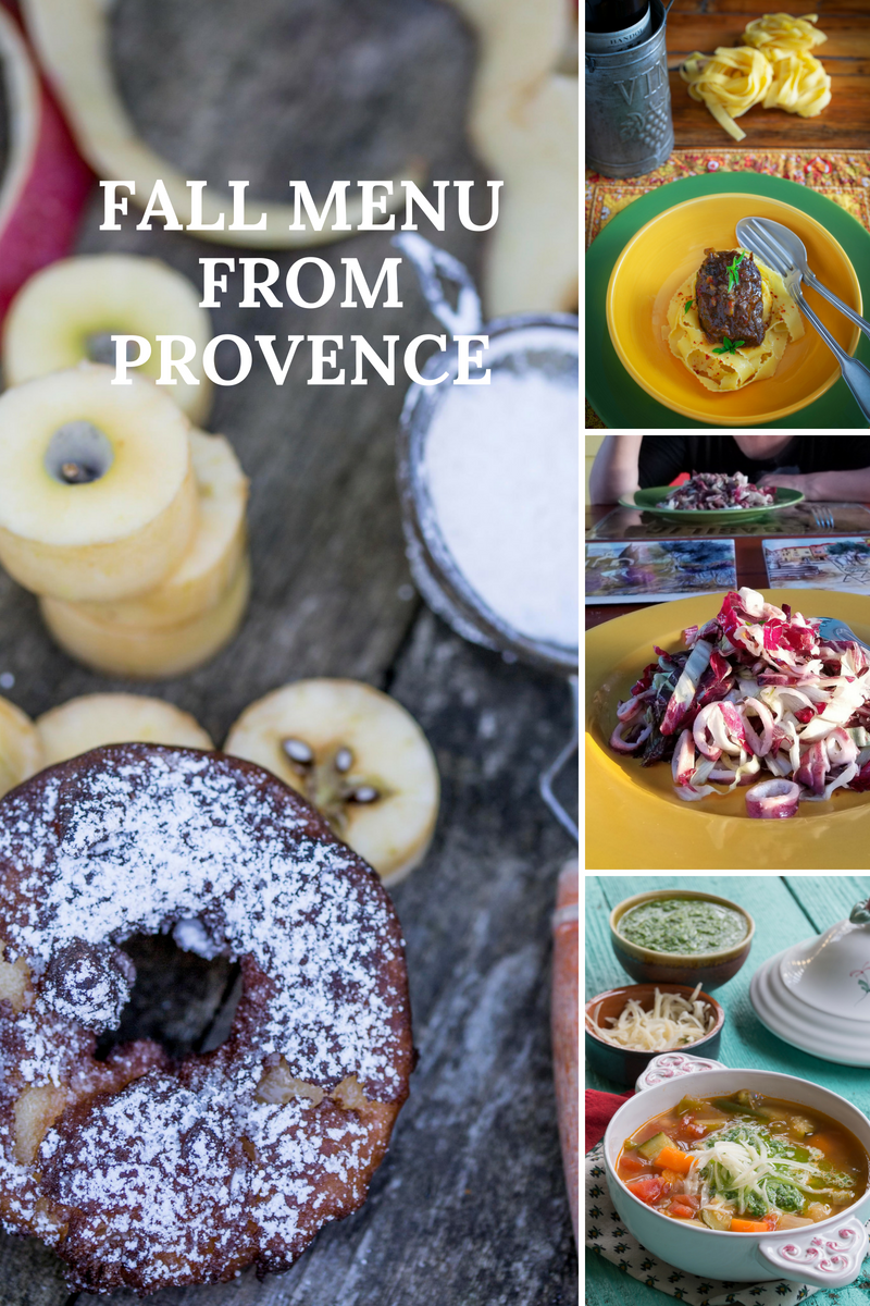 Fall Menu 2018 from Provence