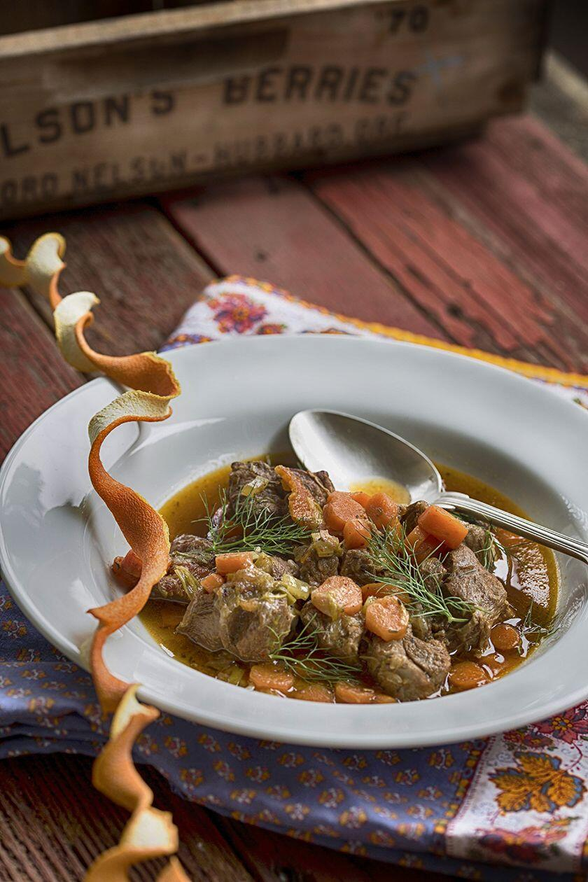 French Lamb Stew Cuisine of the Sun, A Ray of Sunshine on Your Plate