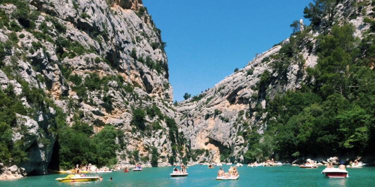 Lac de Sainte Croix Alpes de Haute Provence