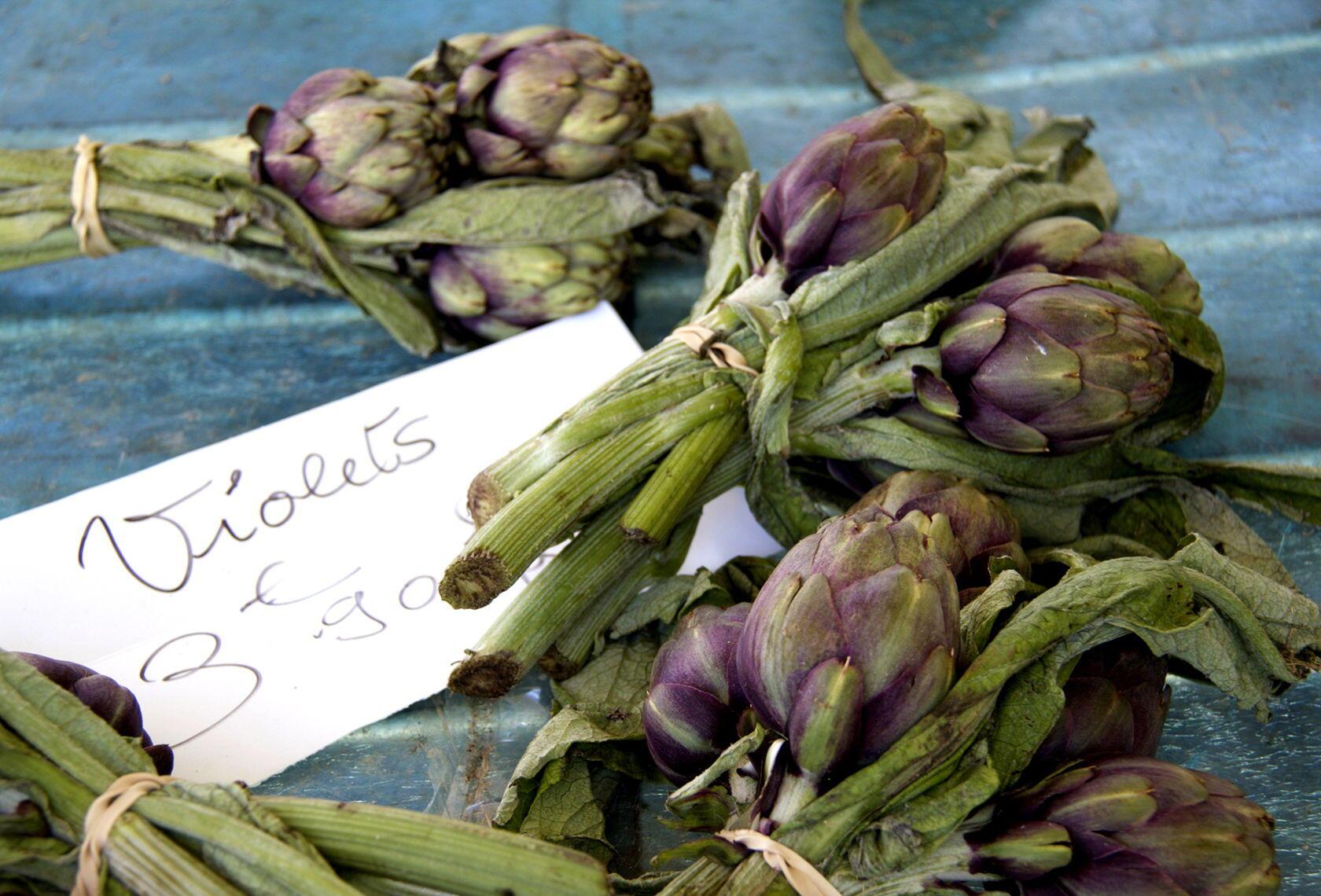 Nice Liberation Market artichokes