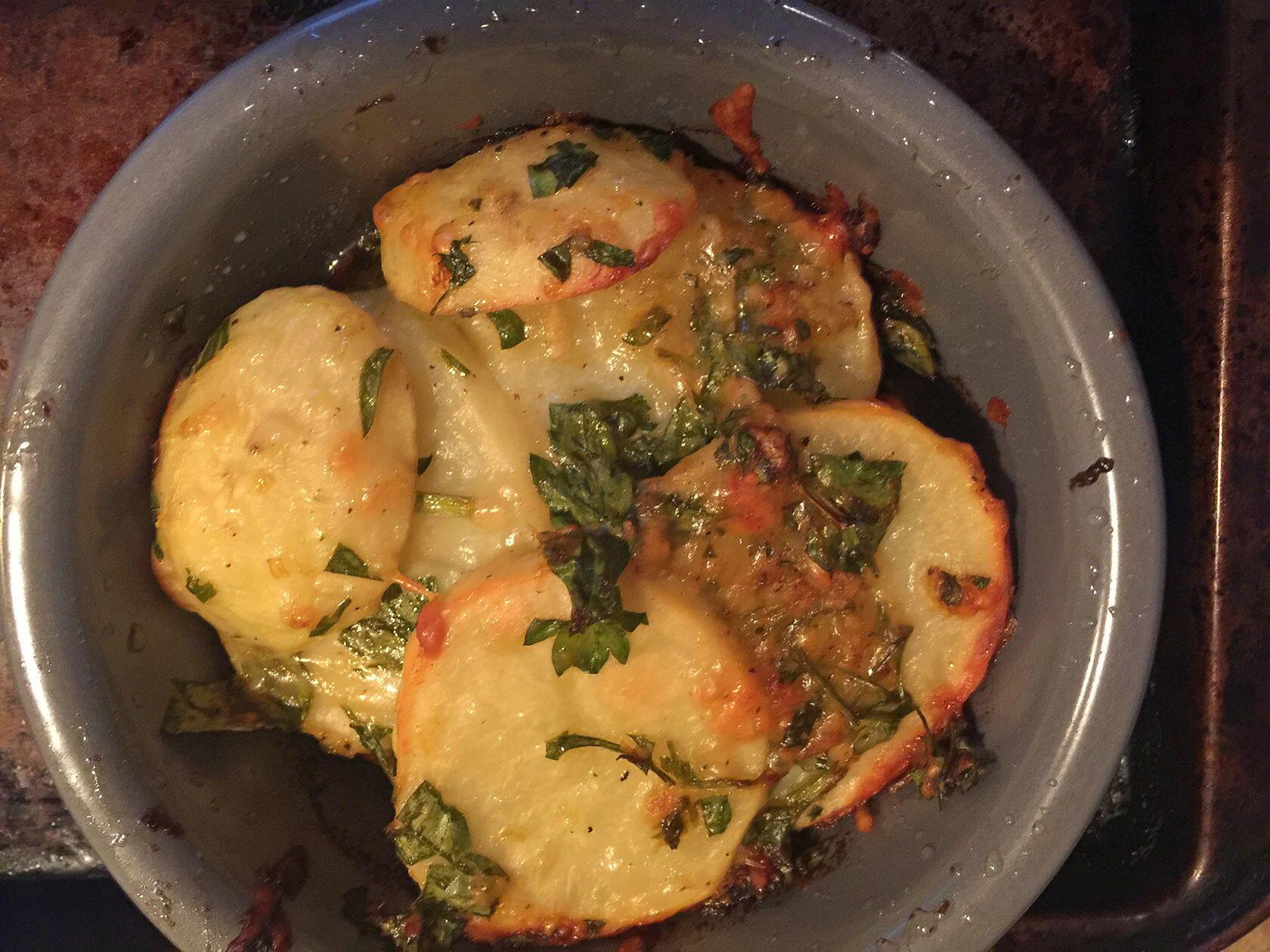 Provencal Baked Potatoes