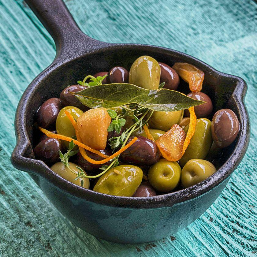 warm olives Cuisine of the Sun