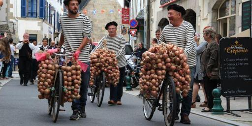 French Fashion Striped Tops-onion-johnnies