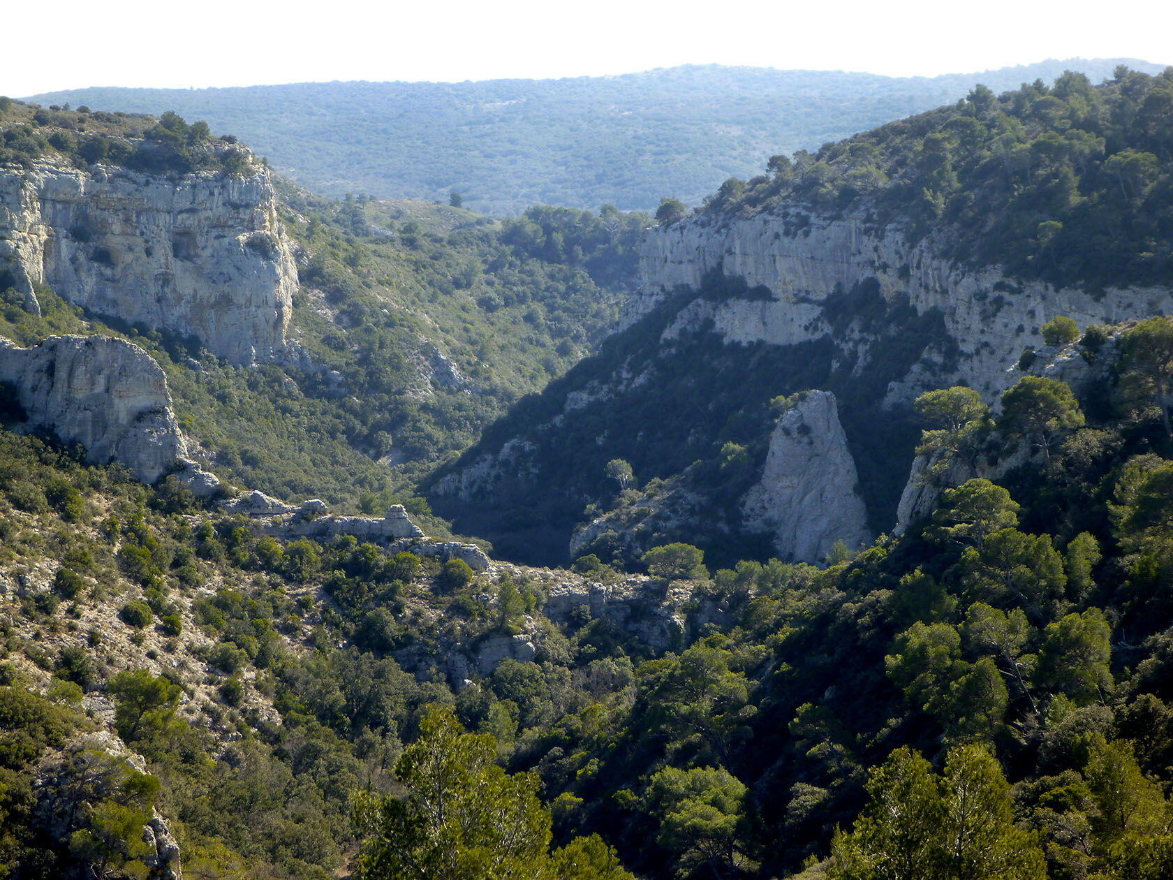 Gorges de Régalon Views