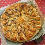 Le Pistou Cookery School Uzès Blue Cheese Tarte Soleil
