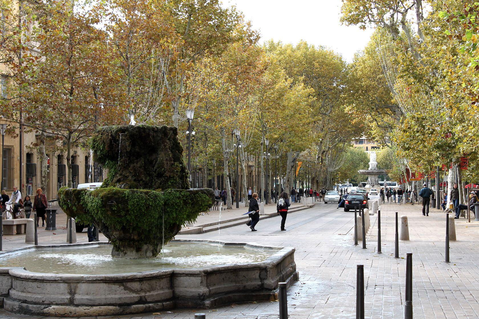 Living Aix-en-Provence Fountains