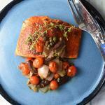 Seared Salmon Ragout