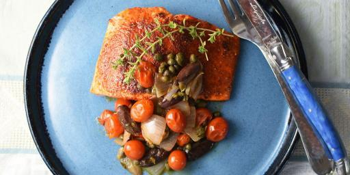 Seared Salmon Ragout