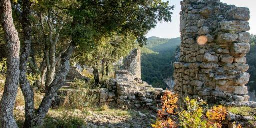 Ruins Fort Buoux Luberon