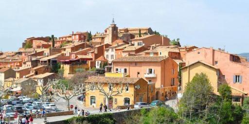 Ochre Cliffs Roussillon Provence