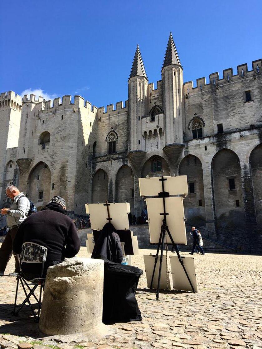 Englishman Provence Expat Living Palais des Papes