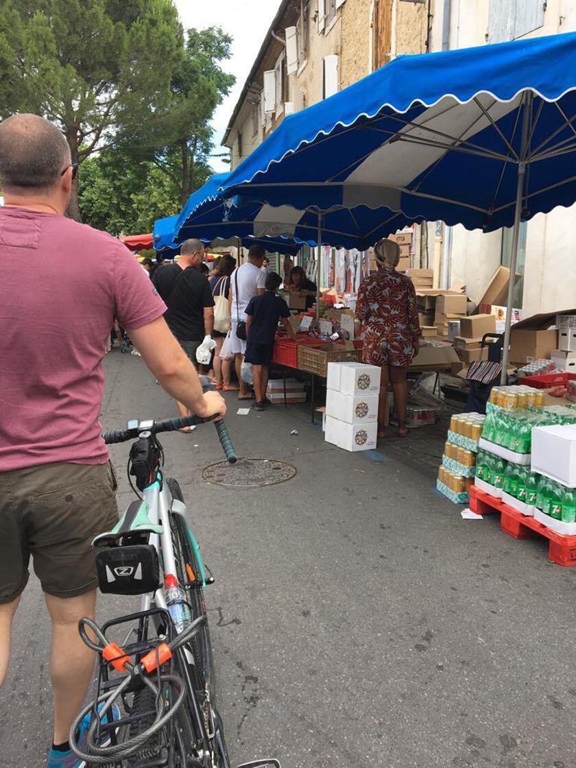 Englishman Provence Expat Living exploring markets