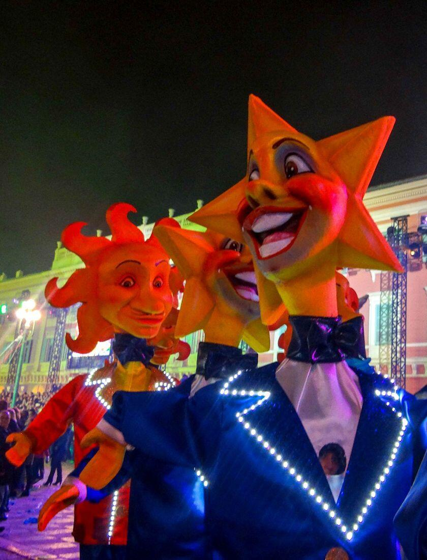 Holiday Festivities French Riviera Nice Carnaval