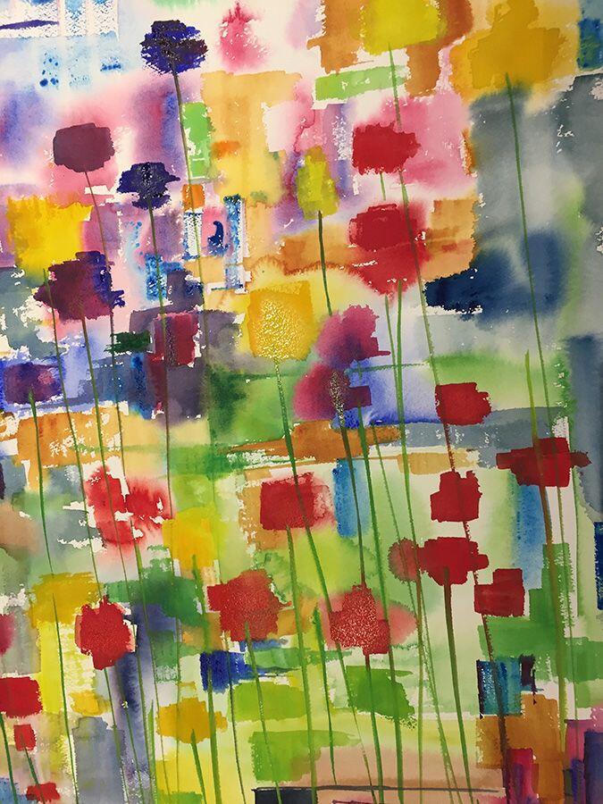 Holidays Painting Provence Tessa Barker