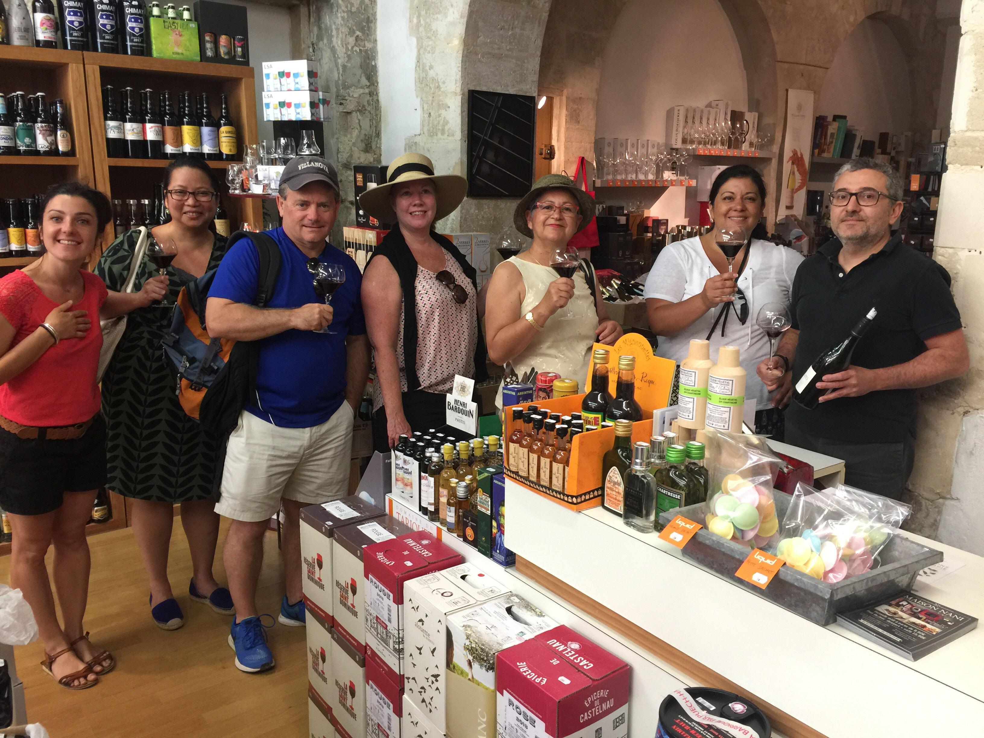 Taste of Provence Tour Wine Tasting