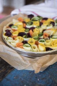 Rose Vegetable Tart