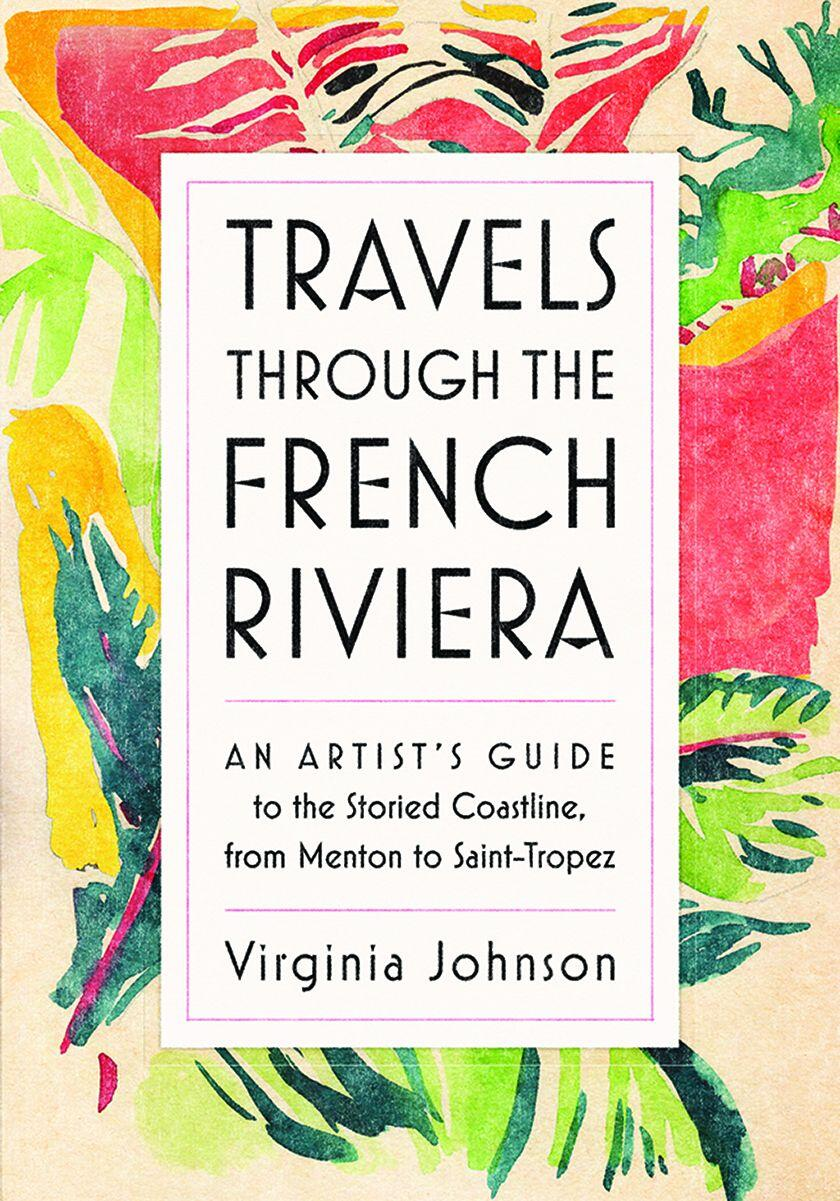 Virginia Johnson's Travels French Riviera Cover
