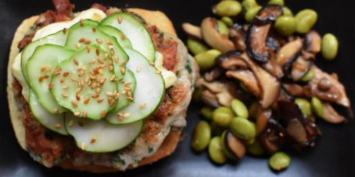 Spicy Tuna Burgers