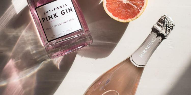 Gin Cocktail Provencal Rosé