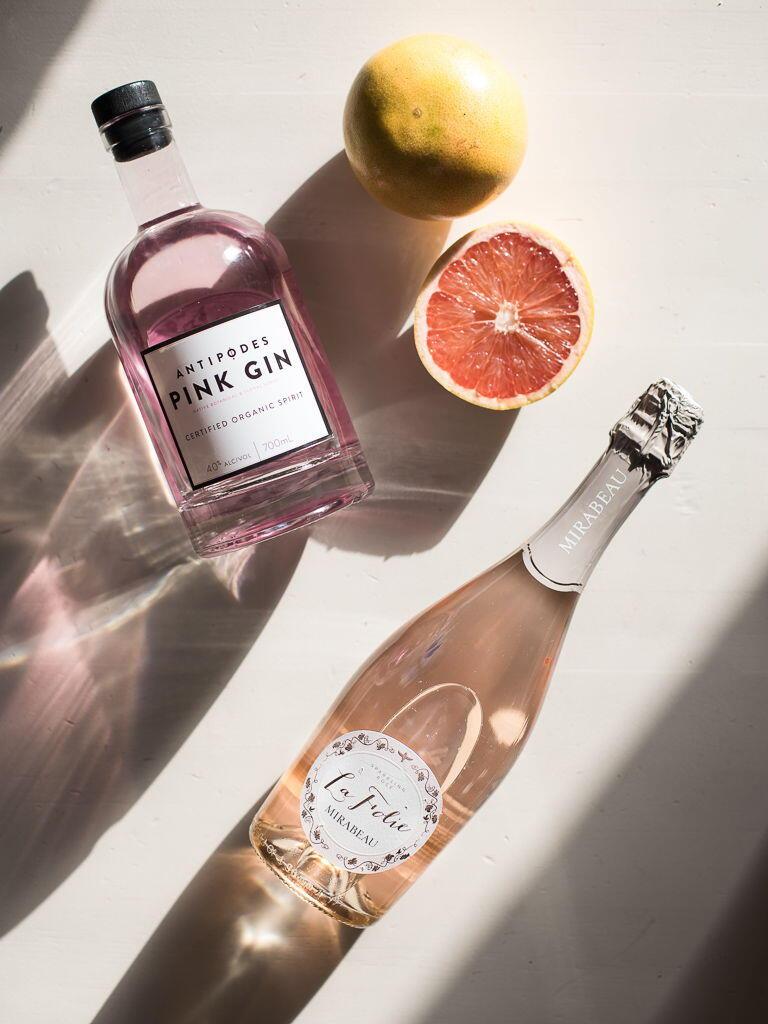 Gin Cocktail Provencal Rosé