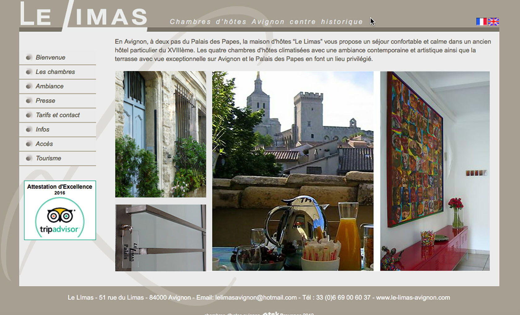 Avignon le Limas Bed & Breakfast