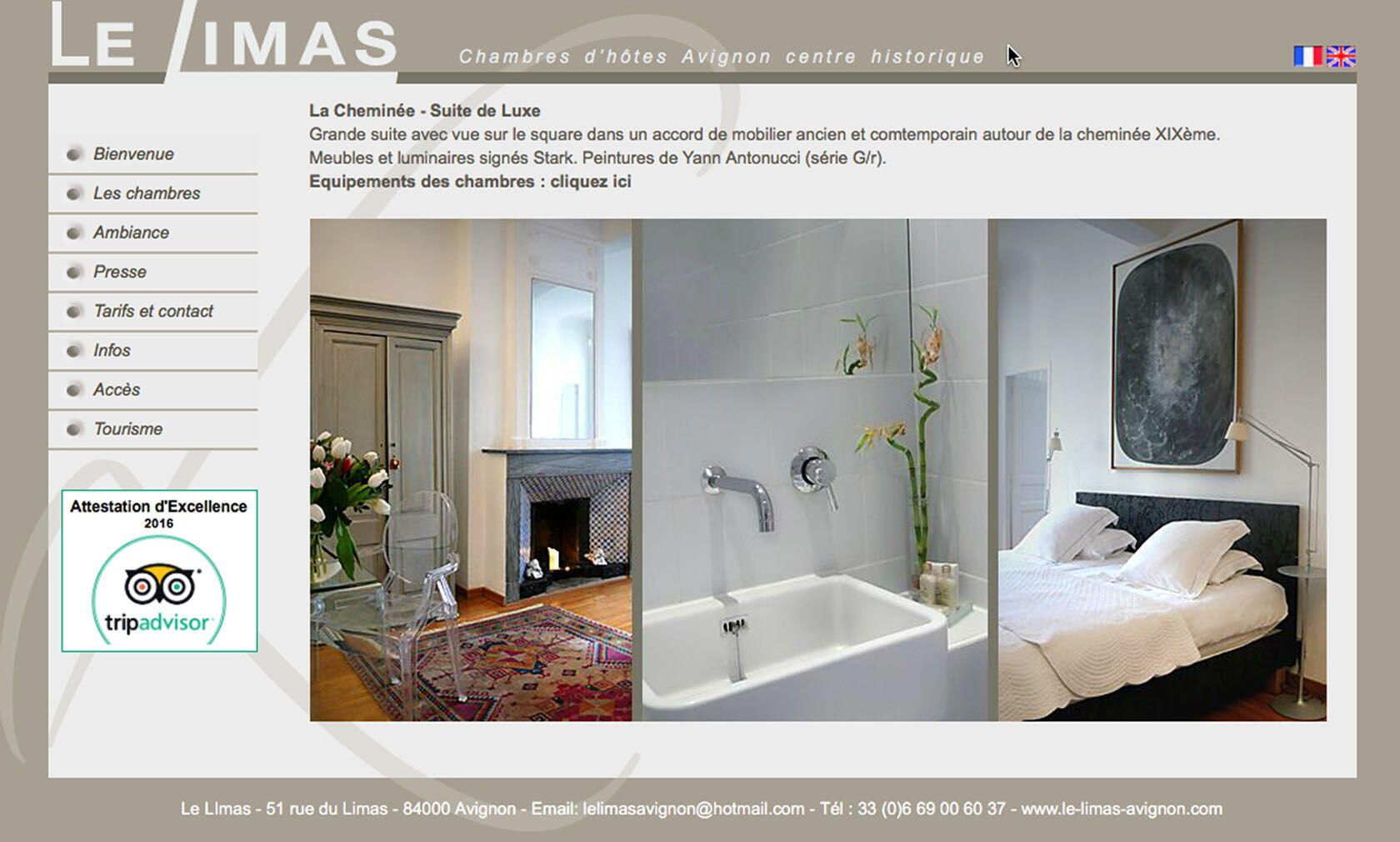 le Limas Bed & Breakfast