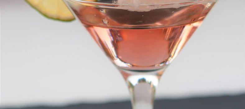 Pink Elephant Martini Cocktail
