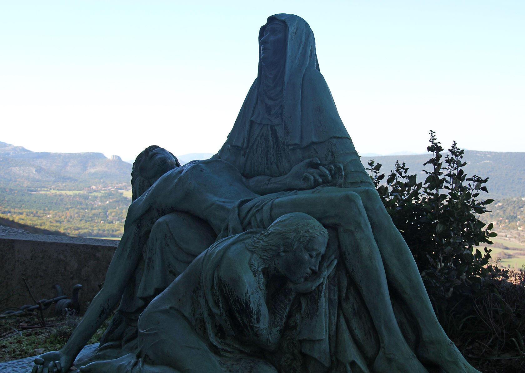 Sainte Baume Grotto Mary Magdalene Statue