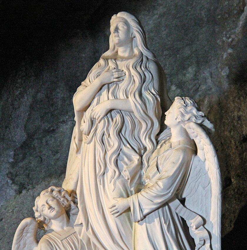 Sainte Baume Grotto Statue