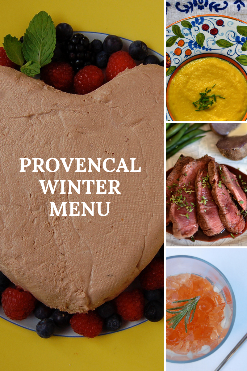 Provencal Winter Menu Friends 2018 Pinterest