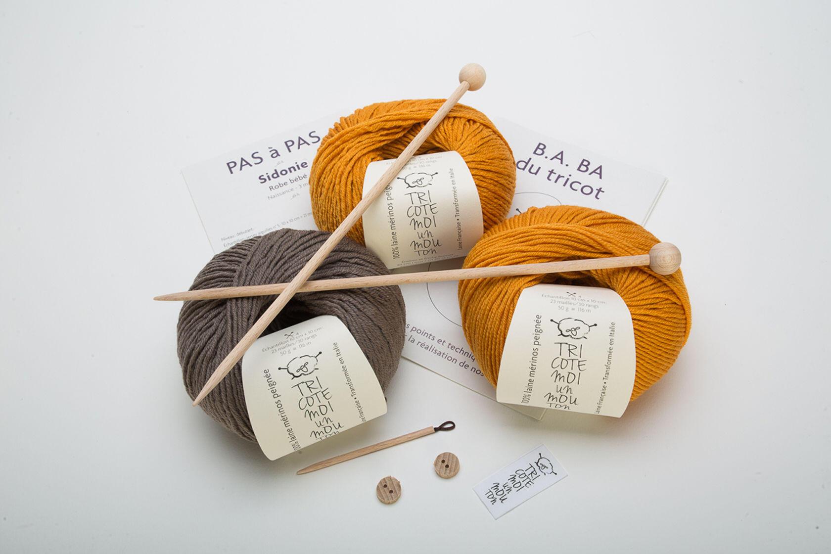 Quality Merino Wool Provence Kit