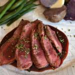 Easy Filet Mignon Bordelaise