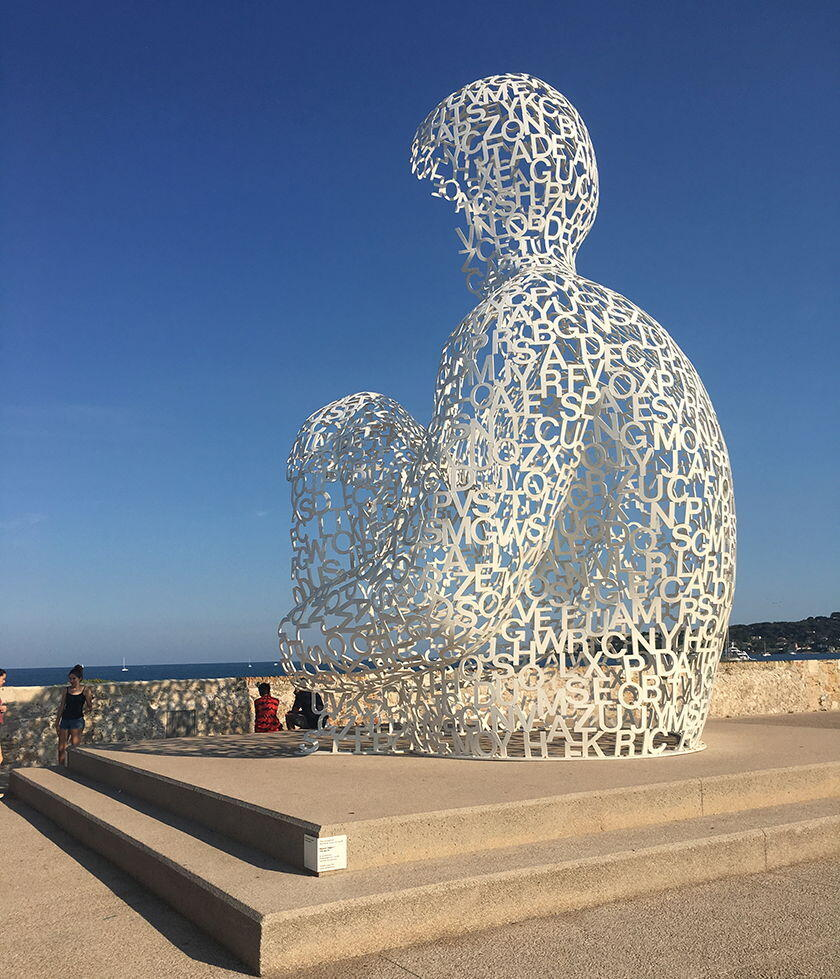 Discovering Antibes France Art Port Vauban