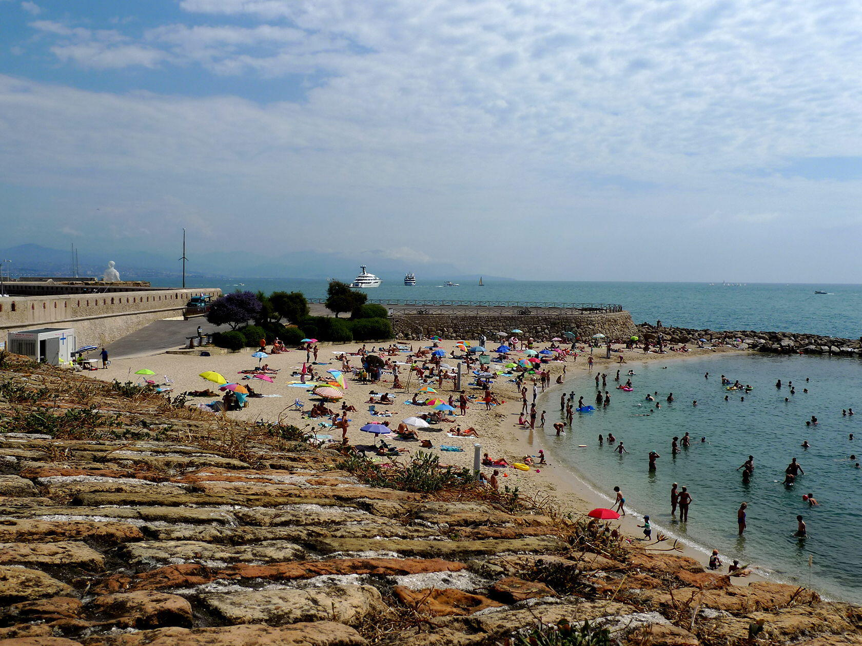 Discovering Antibes France Beach Plage