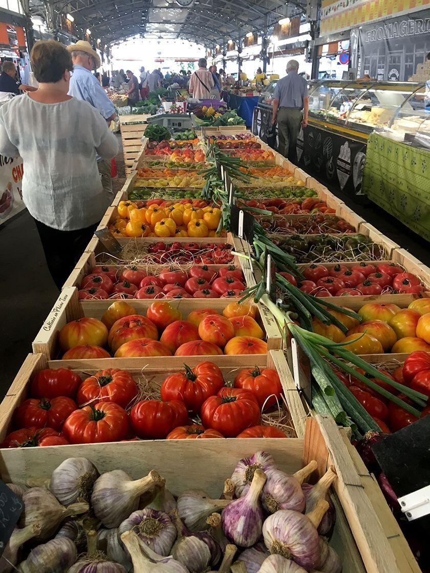 Discovering Antibes France Market Marche