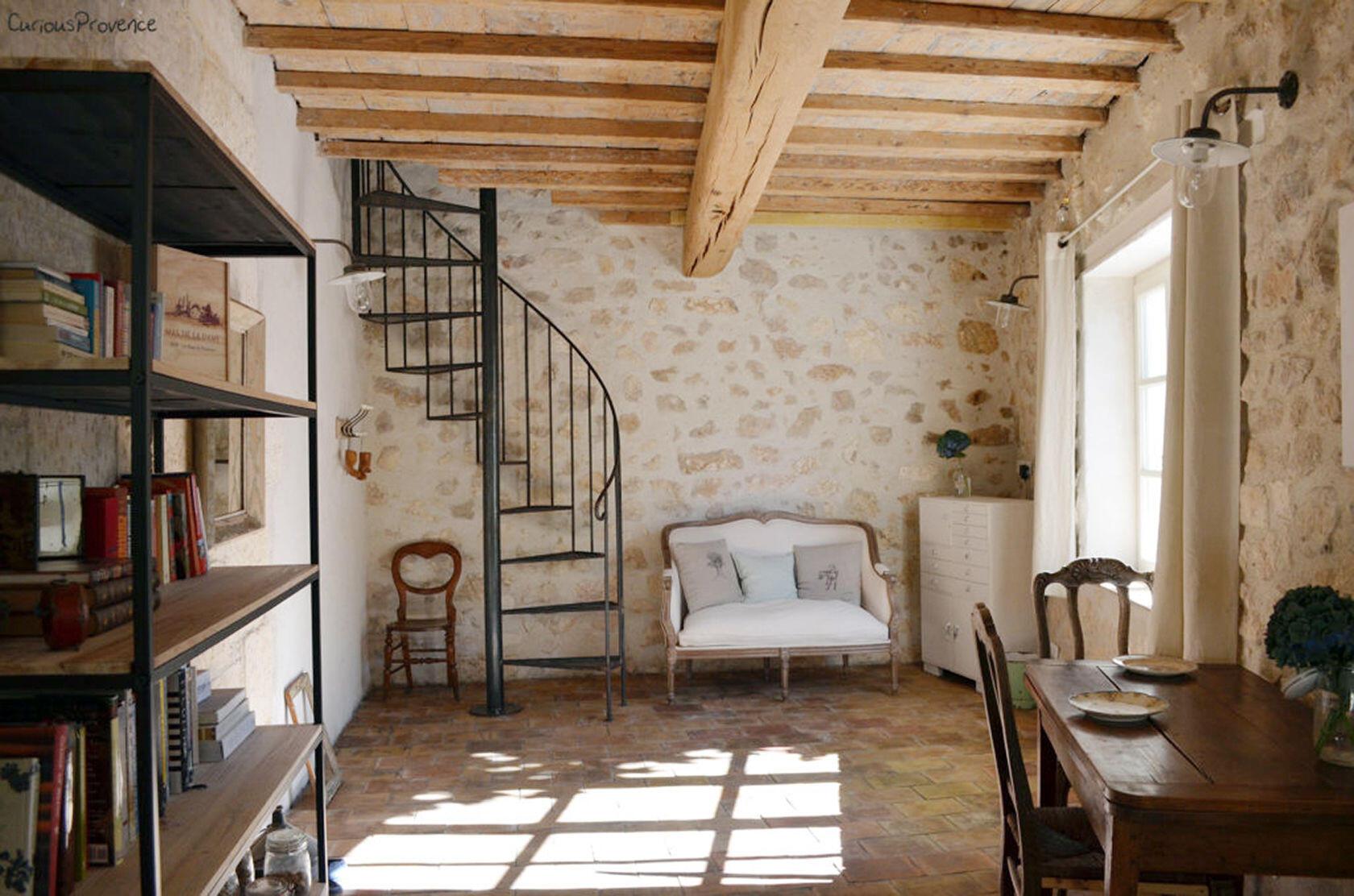 Pied-à-Terre Maussane Alpilles Livingroom